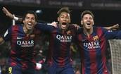 The Best Trio-MSN(Messi,Suarez,Neymar)
