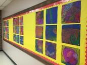 Amazing display, courtesy of Mrs. Norris