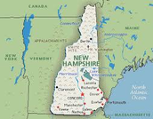 What was New Hampshires climate?