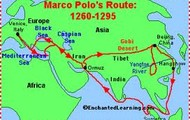 Marco Polo's Exploration Route