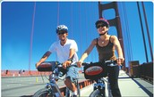 Come along to USA Hostels free bike tour this Friday at 10am! Cycle across the Golden Gate Bridge to Sausalito and back on the Ferry!
