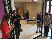 Building Aquaponics Frame