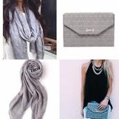 Grey with metallic