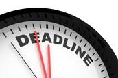 We can meet demanding deadlines!