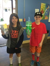 Rockets by Quin, Rylee, & Aidan
