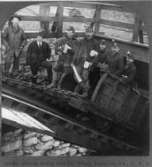 Victorian England Coal Mine