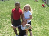 Great weather for recess!