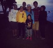 Mi familia y yo.