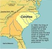 North Carolina and South Carolina