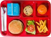 1.) No compres la comida de la escuela.
