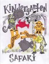 Kindergarten Safari Night- May 10, 2016 @ 6 PM