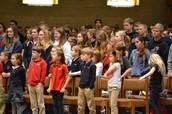 All-school Mass in Missoula