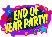 End of the Year Party Schedule