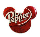 Mickey Shaped Dr. Pepper