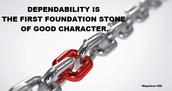 Dependability......