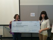 Check Presentation to the West Hartford Food Pantry