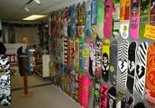Wiz Karuchu's Skateboard shop