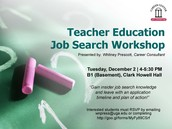 The Education Job Search