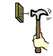 Hammer Hitting a nail