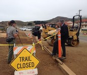 Trail Work Almost Complete at Rodeo Beach