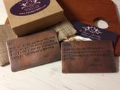 Metal Wallet Cards