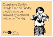 Spring Up for Daylight Savings Time - 03/13
