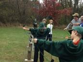 Archery at Walcamp