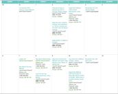 Training Call Calendar