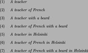 What is a noun phrase?