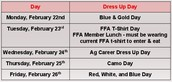 Get ExCiTeD because it's FFA Week!