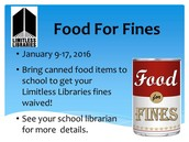 Food for Fines Owed to the Nashville Public Library