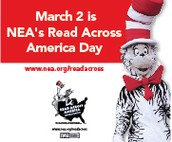 Read Across America Day -- Celebrate Dr Seuss' Birthday!