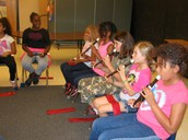 The kids love those recorders!