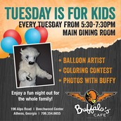 Tuesday Kids Night