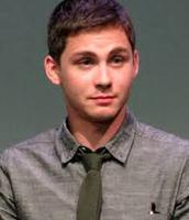 Logan Lerman age 22, actor as Sam