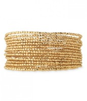 Bardot spiral bracelet in gold - 64$