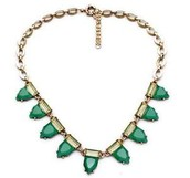 SOLD Eye Candy Necklace Green