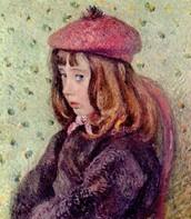 Ritratto di Felix Pissarro, Pissarro, 1881