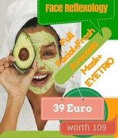 Facial Treatment with fresh AVOCADO!
