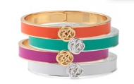 Lindsay Bangle, Turquoise or White, $49