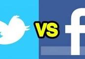 The Battle: Facebook Vs. Twitter