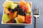 Lunes Tentempié: Mezciado Frutas