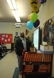 Mr. Johnny Tolliver- Faculty Member of the Month