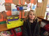 Jack in the Bean Stalk...Another creative reading museum project comes to Pleasant Street!