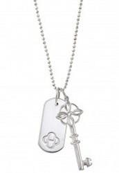 Signature ID Charm - Silver