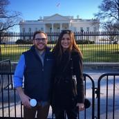 White House with TFA friend Brian, February 2016