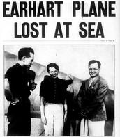 Earhart Missing