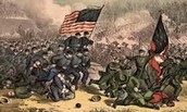 American showed true patriotism during this bloody war but our flag still flew proud by the men of the Union and Confederate Armies