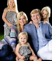 Queen Maxima and her family
