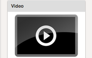 Choose the video icon